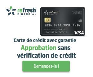 Refresh Financière Visa Sécurisée