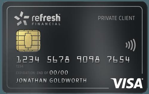 Refresh Financière Visa avec garantie