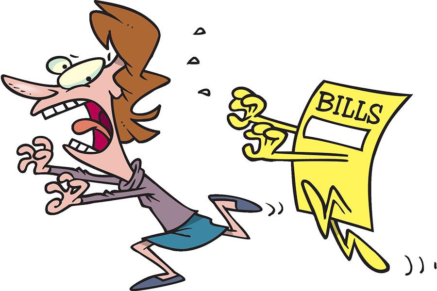 Qu'arrive-t-il après avoir un défaut de paiement?