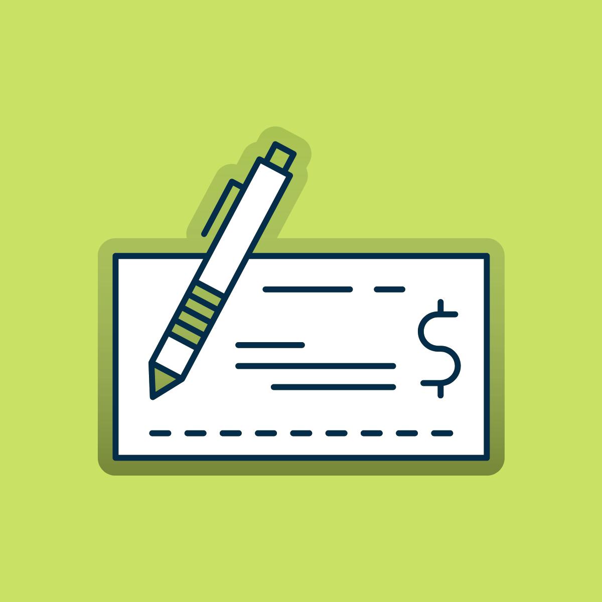 Comment remplir un chèque