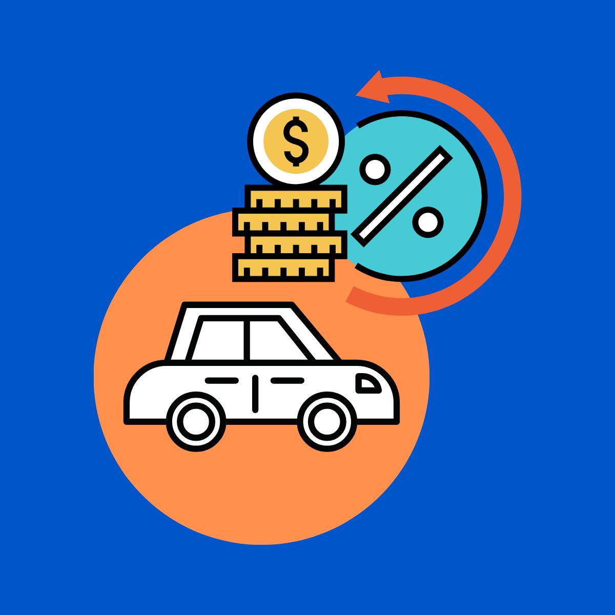 Quel est le taux d'intérêt moyen des prêts automobiles au Canada ?